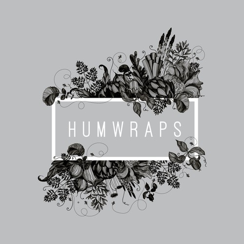 Logo and label design for Humwraps, reuseable planet friendly food wrapping cloth