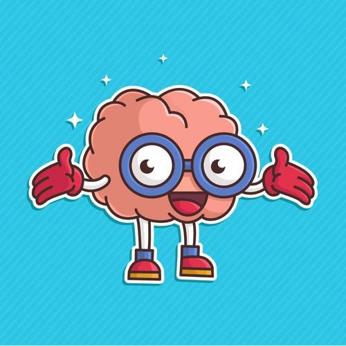 Smart Brain Mascot
