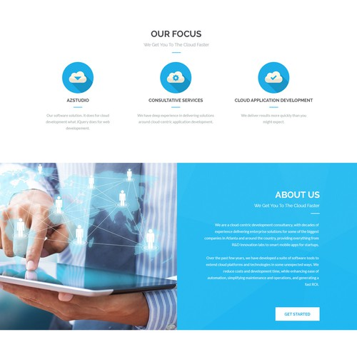 Monza Cloud - WordPress Theme