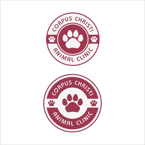 Logo concept for animal clinic