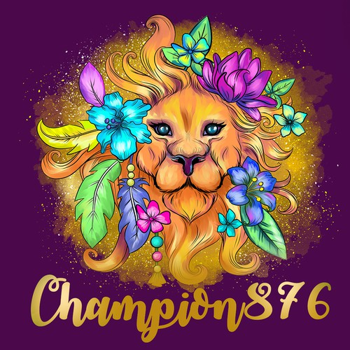 Vibrant logo design for women's cosmetics