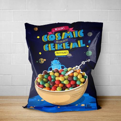 Fun Breakfast Cosmic Cereal