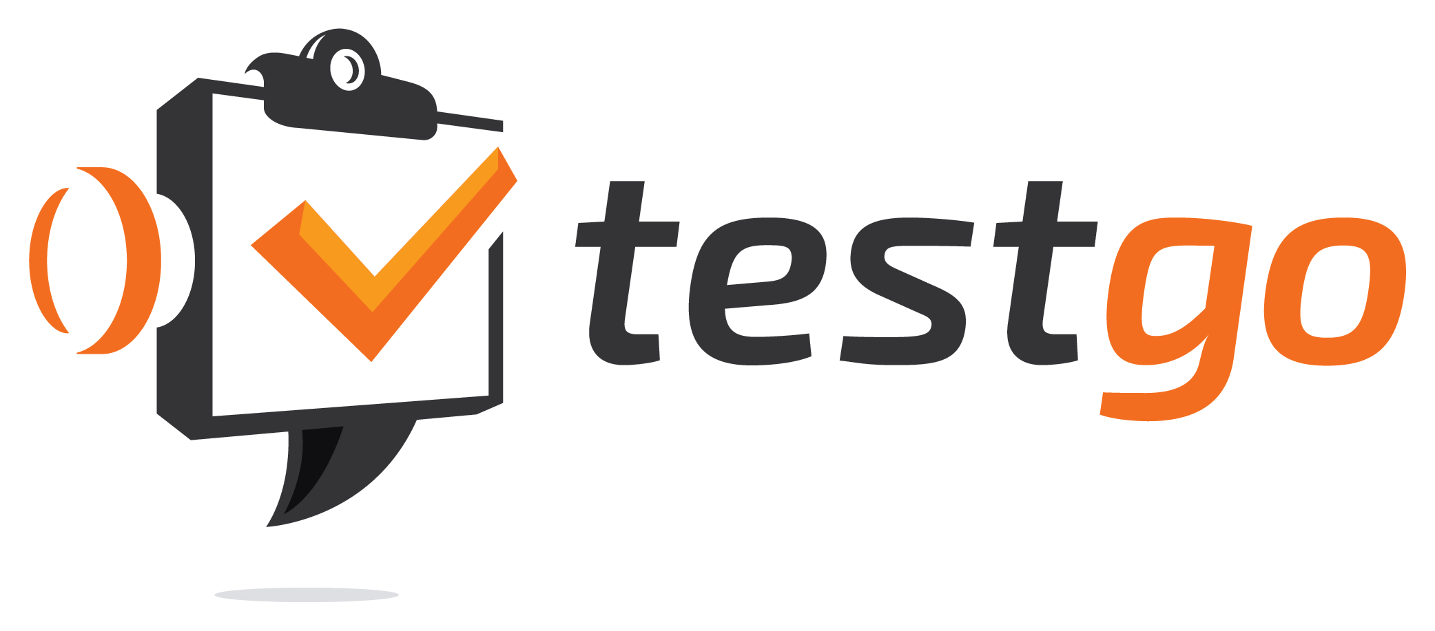 Create a modern, fresh and hip logo for testgo