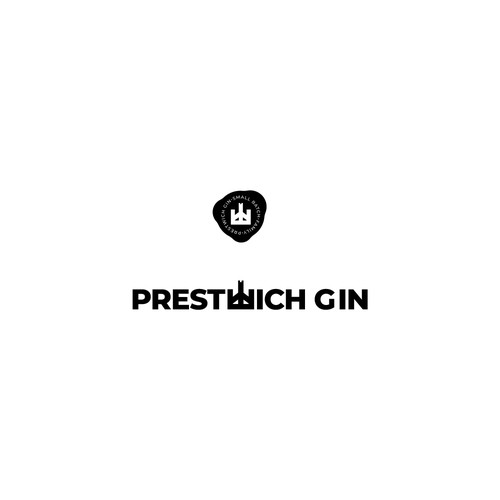 Logo for a new, small batch, family run gin brand