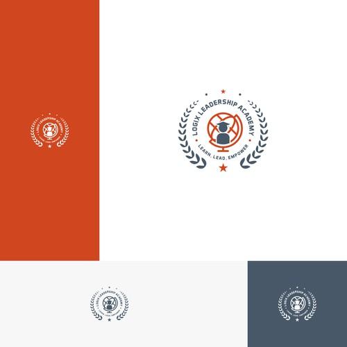 Logix Leadership Academy logo design