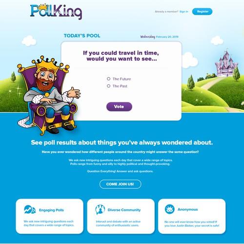Design for Pollking header