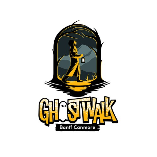 Walking Ghost Stories Tour Group Logo