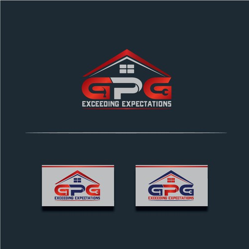 Create a modern/Professional logo, for a construction repair group.