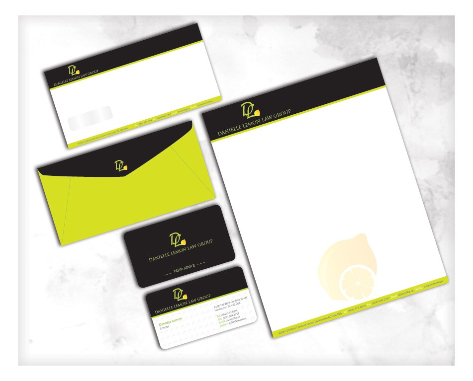 Danielle Lemon Law Group needs a new stationery