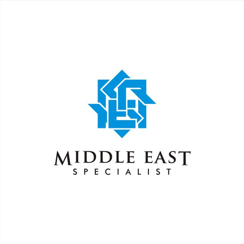 Bold logo for Mid East company