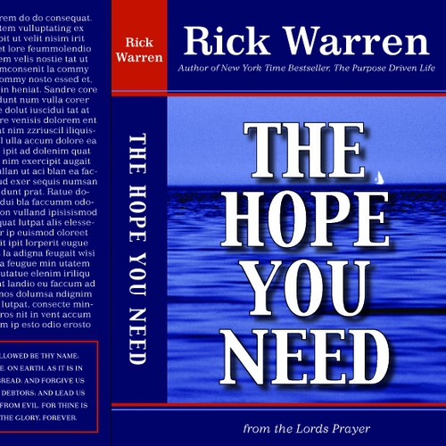 Design Rick Warren's New Book Cover