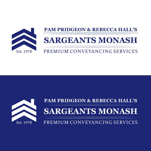 New logo wanted for Pam Pridgeon & Rebecca Hall's (small font) Sargeants Monash (large font)