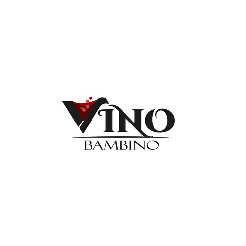 Logo for a wine company
