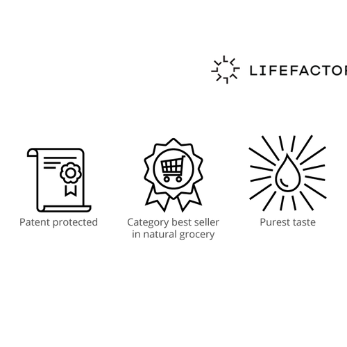 Brand icons for life factory