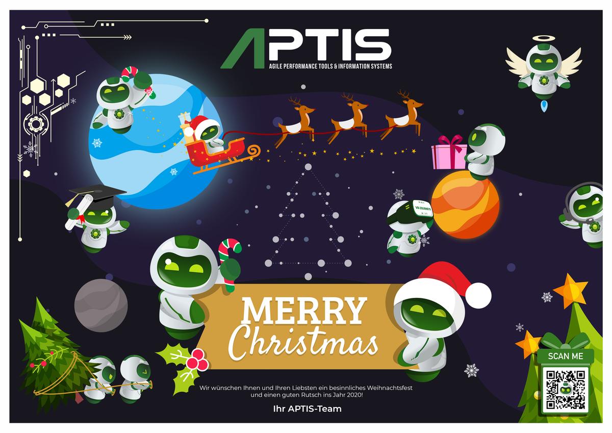 Christmas calendar designs for Aptis