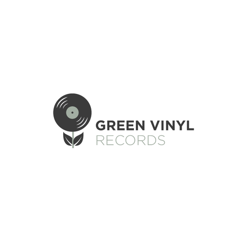 Logo design for a sustainable vinyl producer