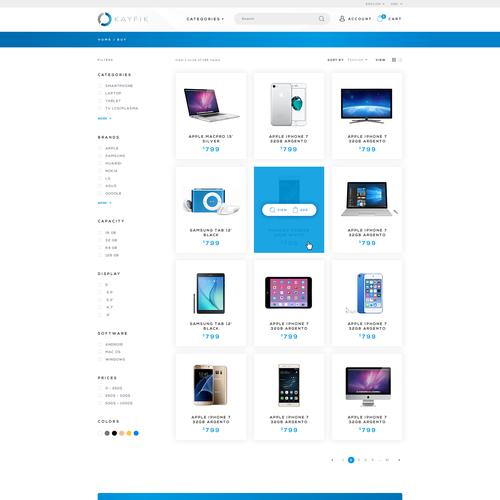 E-commerce for Smartphone