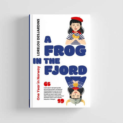 A frog in the fiord