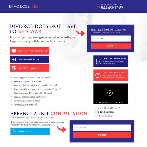 DIVORCE HELP