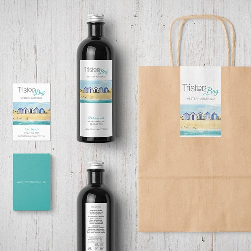 Logo & food packaging for Triston Bay