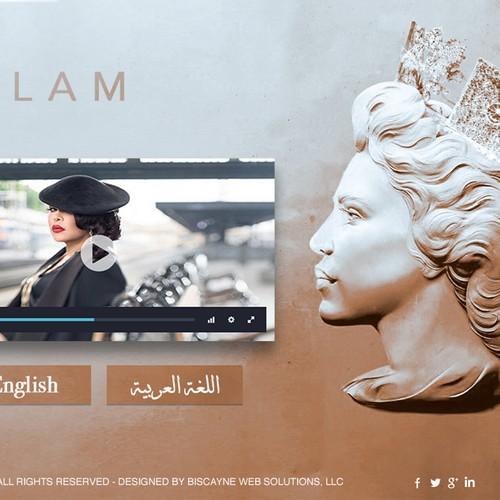 Queen Ahlam Website