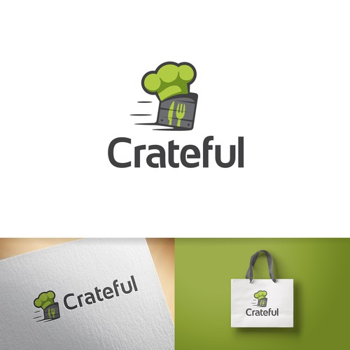 Engaging logo concept made for a catering service