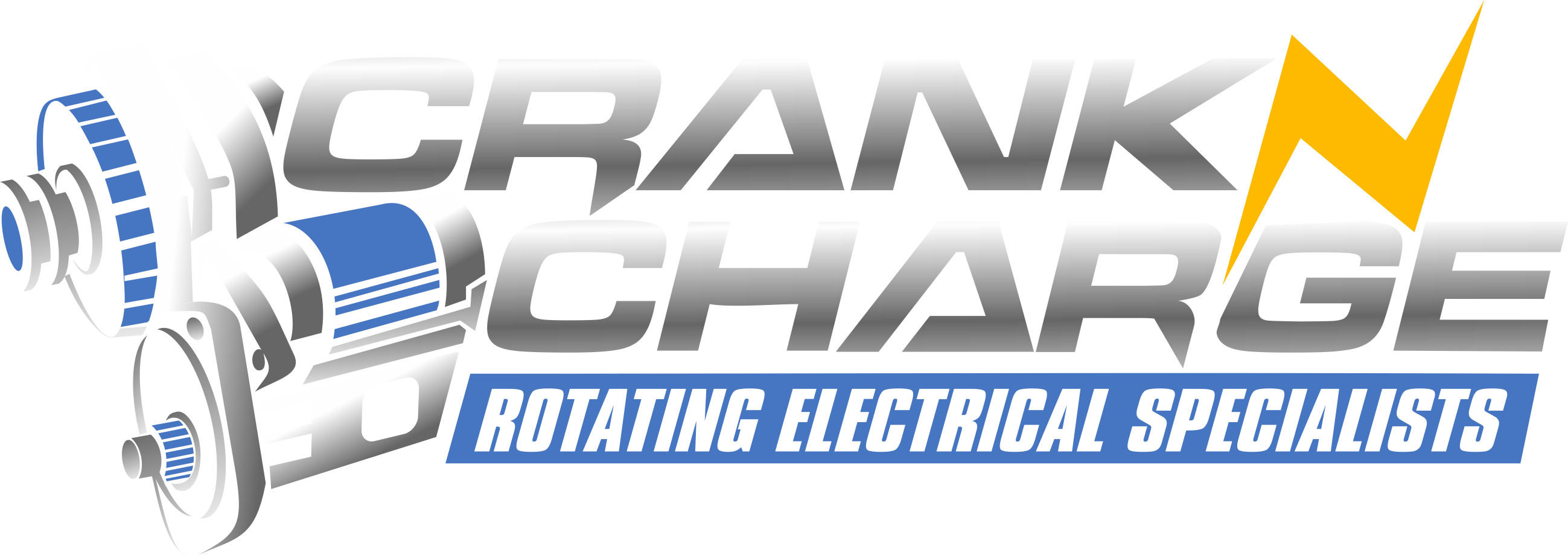 Crank N Charge- Auto parts seller needs a new logo!
