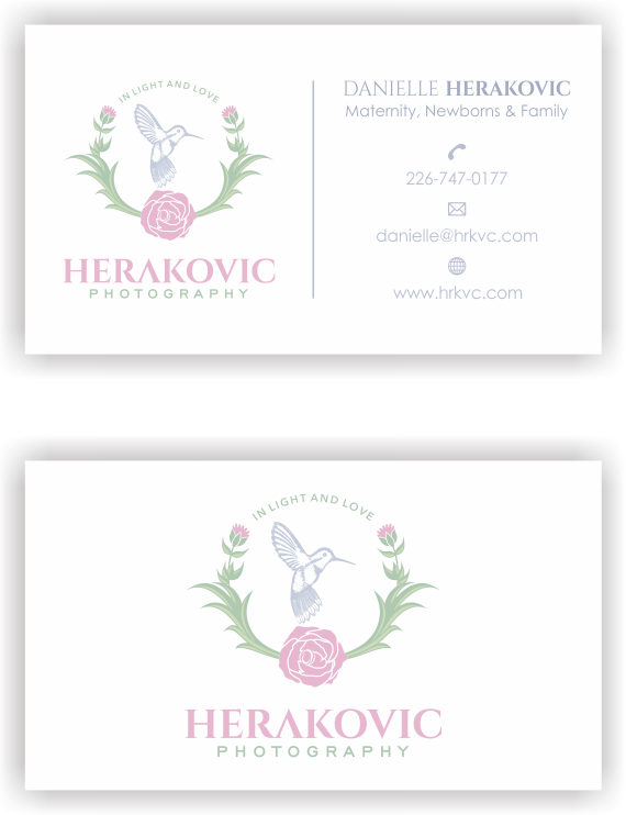 Herakovic Photography Business card!