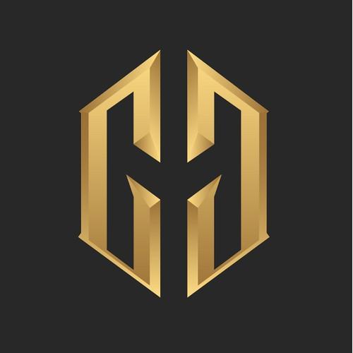 Bespoke double G logo for a luxury car detalier