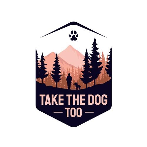 take the dog too logo