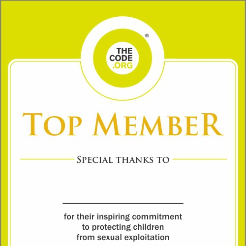 Help us create certificates for our Members & Top Members