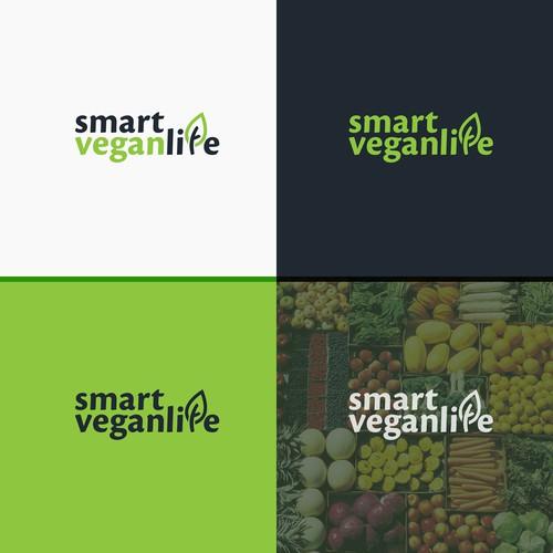 Logo for vegan life style