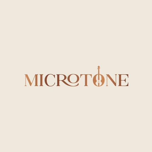 Microtone Wordmark Logo