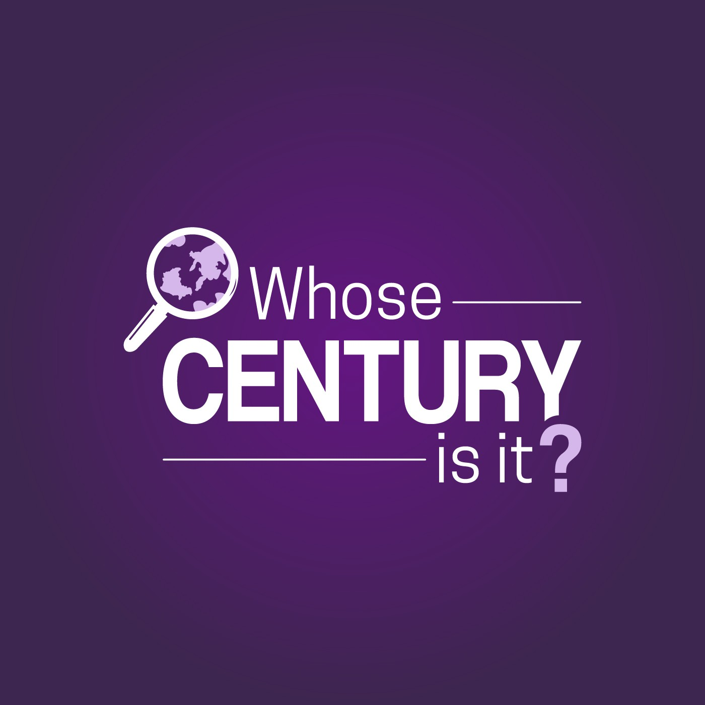 Design a better logo for the Whose Century Is It? podcast
