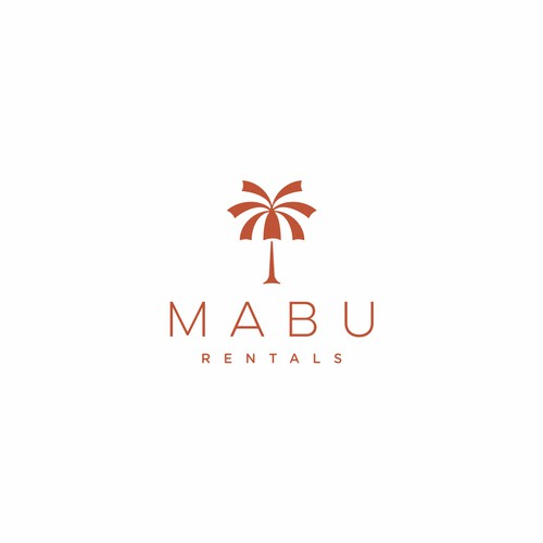 """Logo concept for """"MABU RENTALS"""""""
