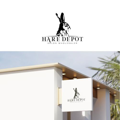 HARE DEPOT Logo Design