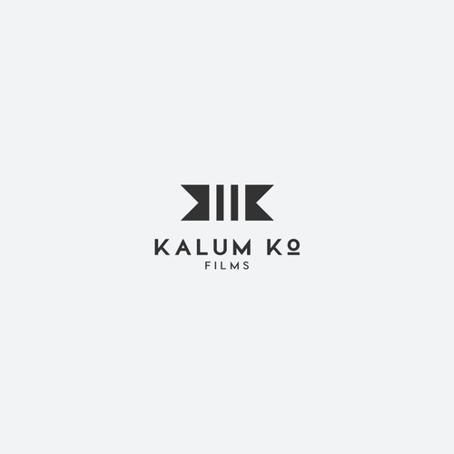 Logo for an emerging film company