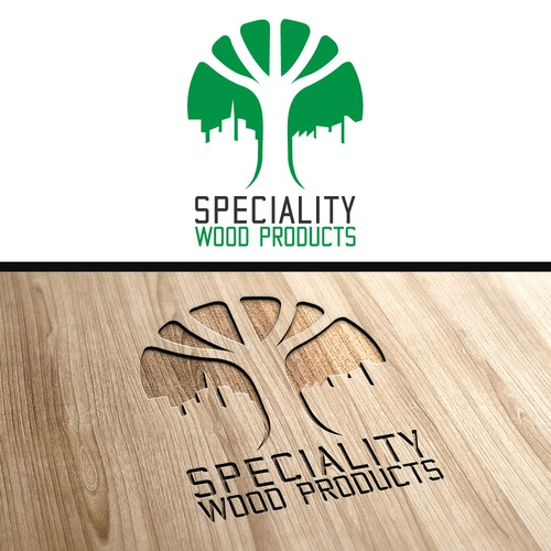 Re-branding a lumberyard in Colorado- new Specialty Wood Products logo!