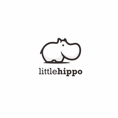 Cute logo Hippo