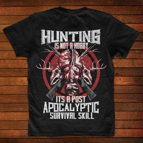 Hunter Skull Shirt