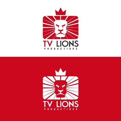 Moderne LION zoekt logo voor TVLions Productions
