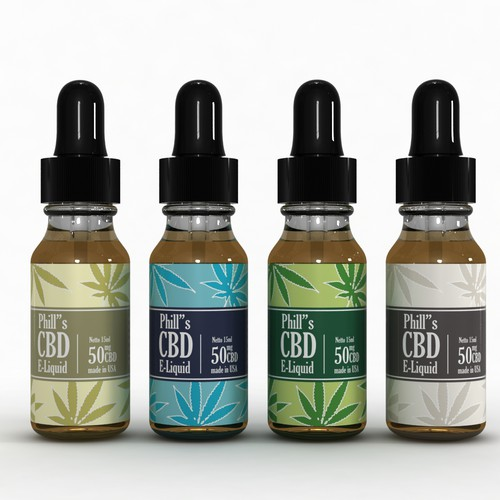 Phill's Cbd E-liquid Label