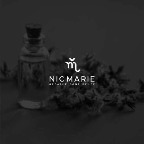Simple and Bold Logo for NicMarie