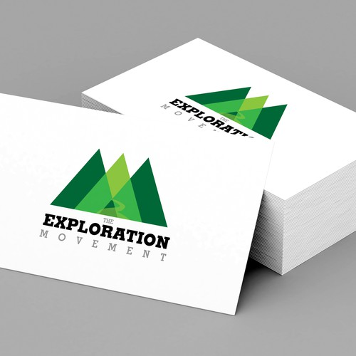 Design a minimalist and sophisticated logo for The Exploration Movement