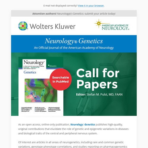 Wolters Kluwer email design