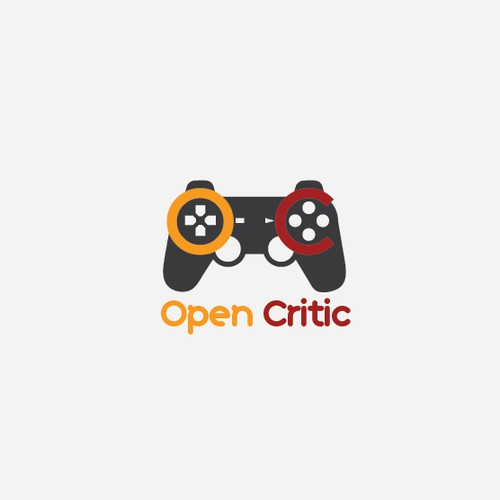 Logo concept for video game website