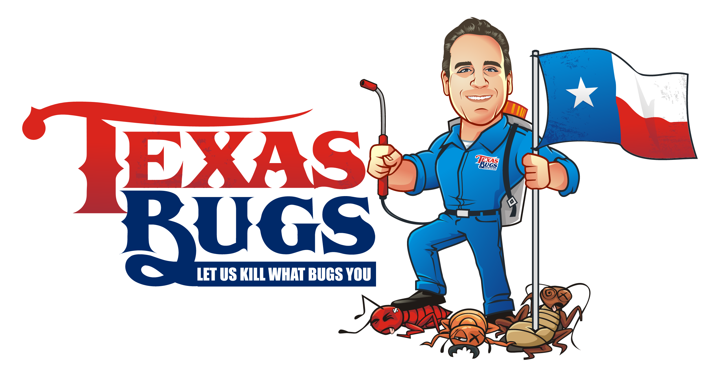 Texas Bugs Pest Control needs a logo