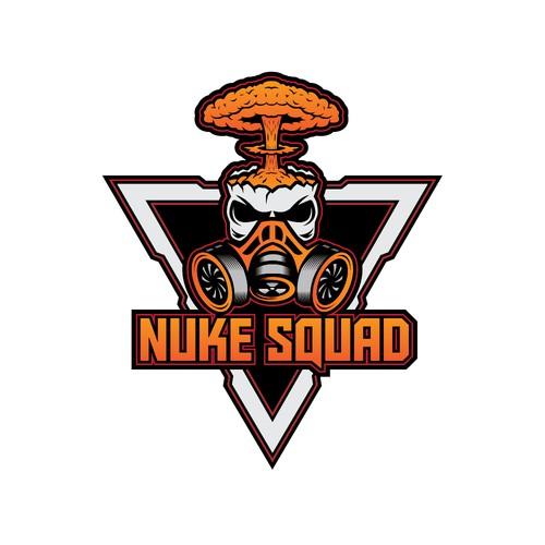 NUKE SQUAD Logo Design
