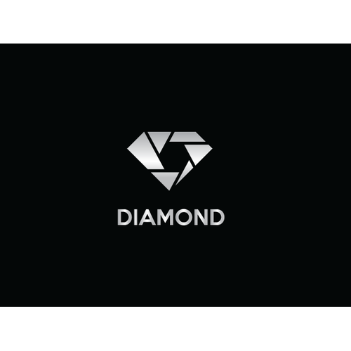 Diamond in black