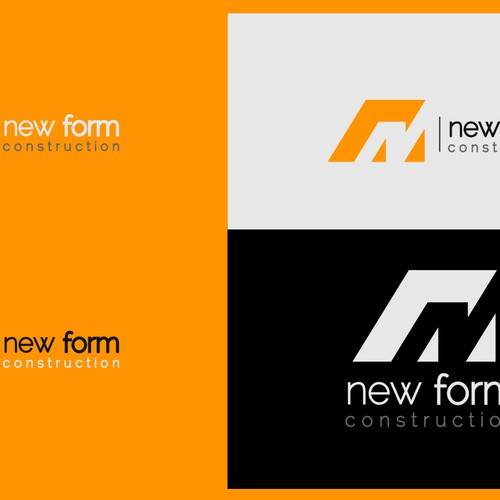 Help New Form Construction with a new logo